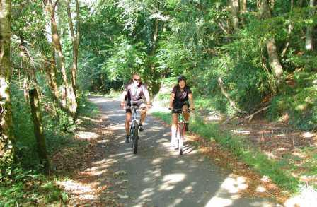 5 nights Self-Guided Cycling Cornwall, traffic free cycling