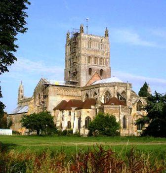 7 nights Cycling England Cotswolds and Severn Vale. Tewkesbury Abbey