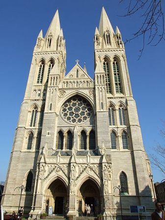5 nights Self-Guided Cycling Cornwall, Truro Cathedral